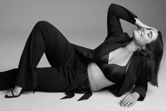 Alessandra Garcia-Lorido na campanha da Lane Bryant.