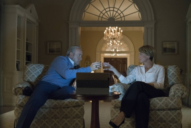 Cena de 'House of Cards'.