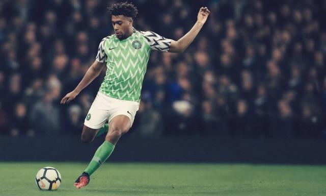 O uniforme da Nigéria esgotou em diversas lojas no dia de seu lançamento