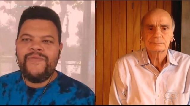 Babu Santana falou com Drauzio Varella sobre as mudanças nos seus hábitos de vida