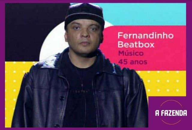 Fernandinho Beatboxé um dosparticipantesde'A Fazenda 12'em2020.