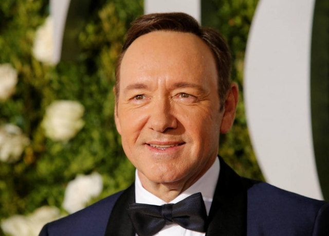 O ator Kevin Spacey