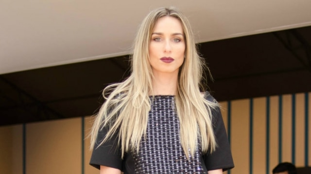 Modelo e apresentadora de TV Mariana Weickert