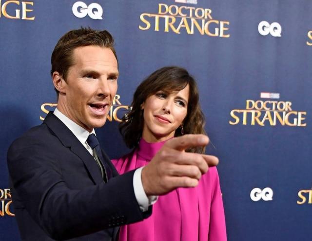 Cumberbatch e sua mulher, Sophie Hunter, tiveram sua primeira filha