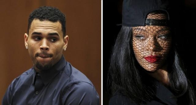 Chris Brown parece não ter esquecido Rihanna