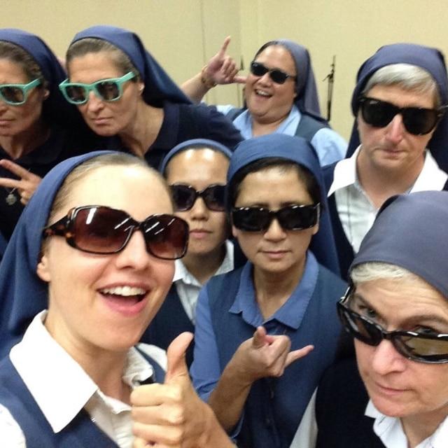 Freiras da missão de St. Paul acreditam que os discípulos de Jesus seriam — como elas — adeptas do Snapchat