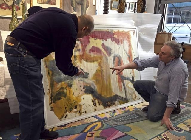 Um vendedor de obras de arte comprou um depósito e pode ter achado seis obras do pintor holandês Willem de Kooning que podem valer milhões de dólares