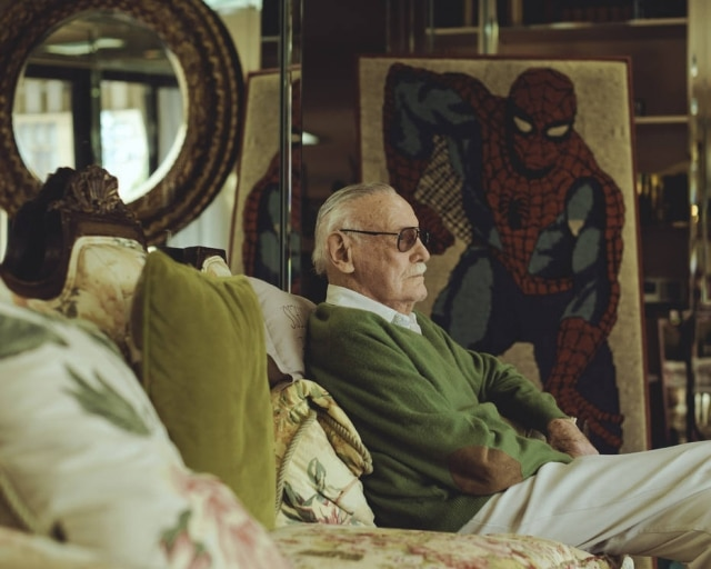 Stan Lee criou personagens icônicos do universo Marvel.