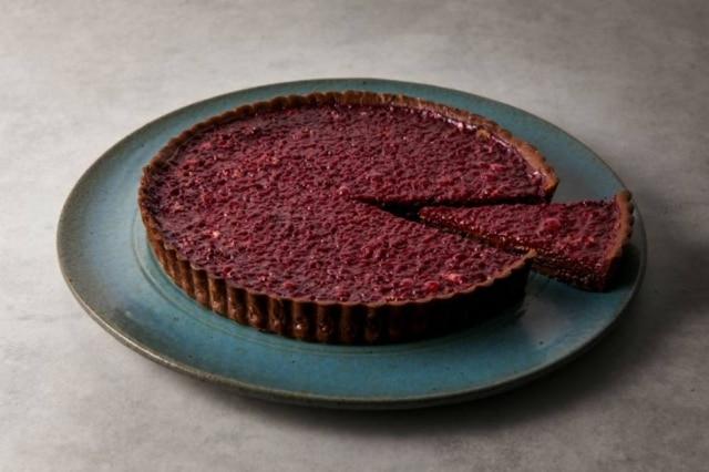 Alterada. Torta de amora e chocolate de Marilia Zylbersztajn