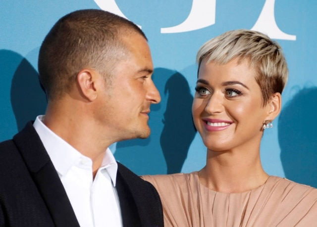 Katy Perry e Orlando Bloom estão noivos.