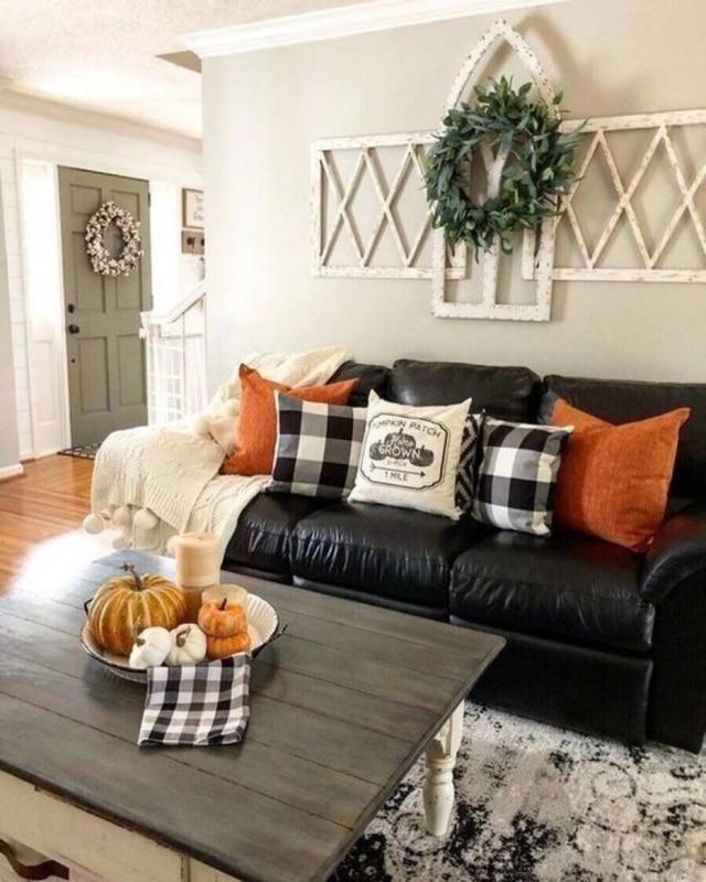Uma sala à carater para receber os amigos no dia do Halloween