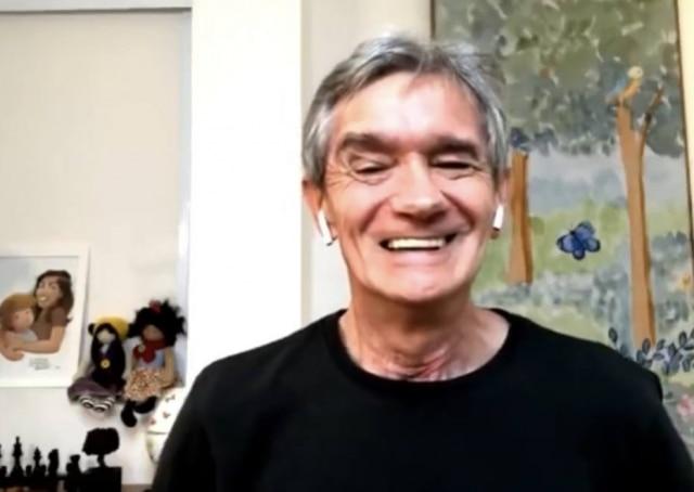 O apresentador do 'Altas Horas', Serginho Groisman