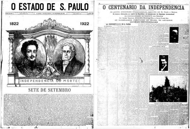 > Estadão -07/9/1922e08/9/1922