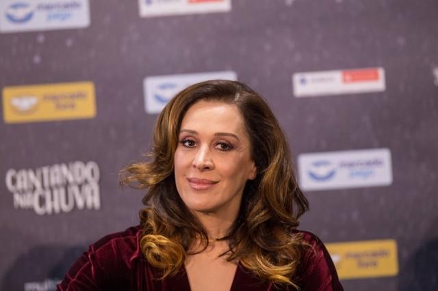 Claudia Raia contou que ficou cinco dias brigada com Alexandre Frota na lua de mel.