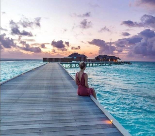 Hotel nas maldivas está oferecendo um tour 'instagramável' para seus visitantes.