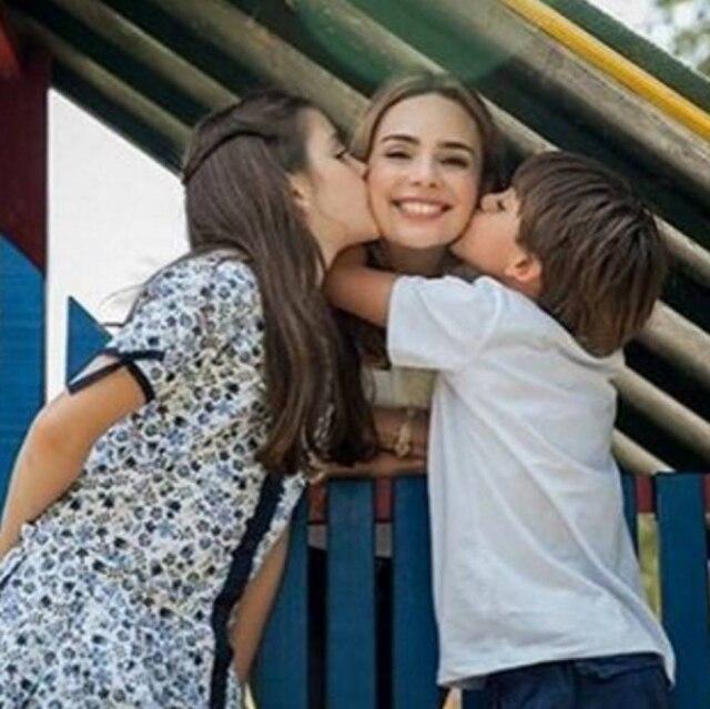 A jornalista destacou que o maior presente do relacionamento foram seus dois filhos.
