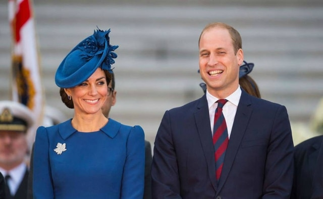Kate Middleton e príncipe William.