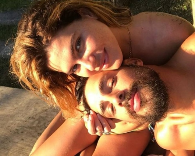Mariana Goldfarb e Cauã Reymond.