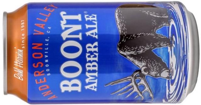Boont Amber Ale, da Anderson Valley, grande nome da cena cervejeira americana