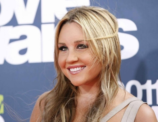 Amanda Bynes no MTV Movie Awards de 2011, em Los Angeles in this June 5, 2011, file photo.