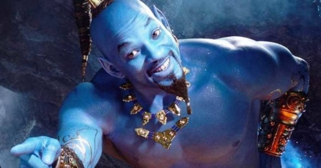 O ator Will Smith, que interpreta o Gênio na versão live-action de 'Aladdin'.