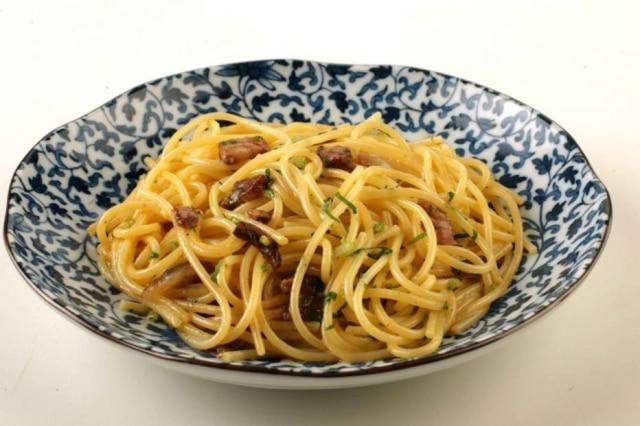 Receita de espaguete à carbonara
