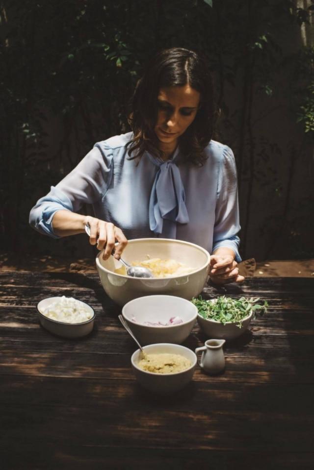 A chef Gabriela Barretto, que lança o livro 'Como Cozinhar sua Preguiça'