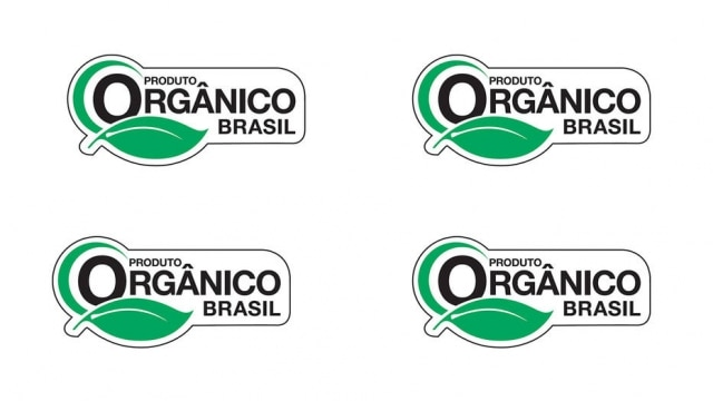 Selo brasileiros de produtos orgânicos.