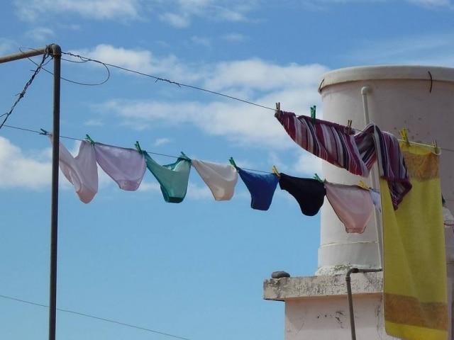 'Você pode até lavar a calcinha no chuveiro, mas depois disso, coloque para secar em um local arejado. O banheiro é um local úmido e adorado pelos fungos', ressaltaginecologista