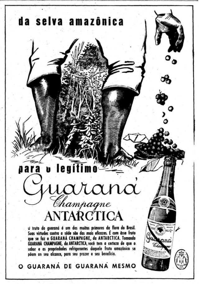 Anúncio doGuaraná Antarcticano Estadão de 12/7/1958