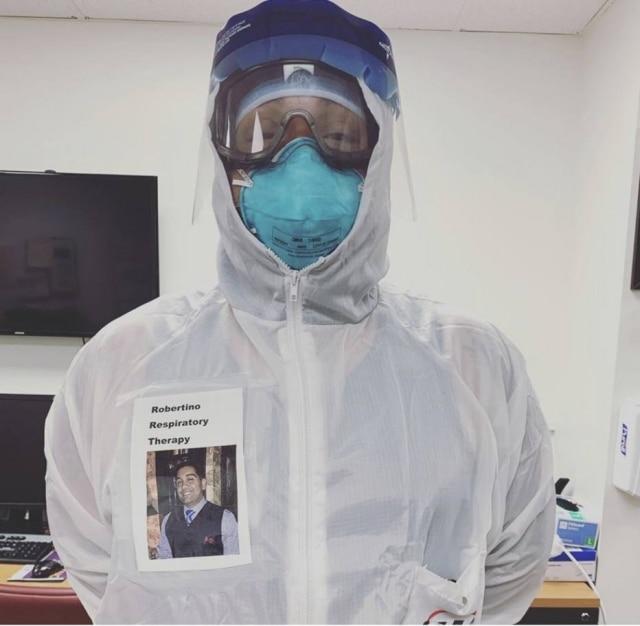 O médico Robertino Rodriguez, especialista em terapia respiratória em Los Angeles, nos Estados Unidos.
