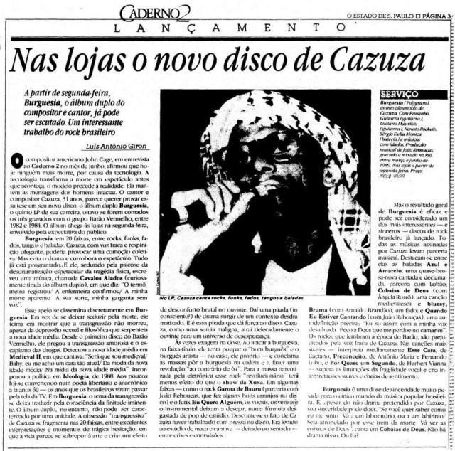O Estado de S.Paulo - 10/8/1989