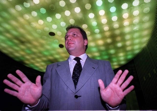 Ricardo Barros no plenário da Câmara em 2001.