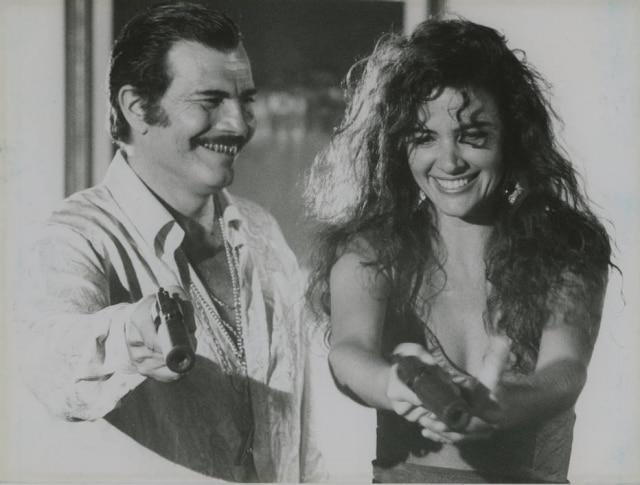 Tarcísio Meira e Luma de Oliveira no papel de 'Boca de Ouro', filme dirigido por Walter Avancini