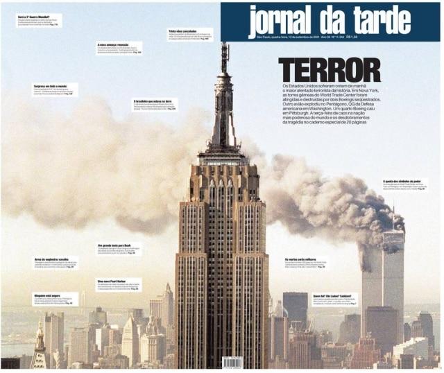 > Jornal da Tarde - 12/9/2001