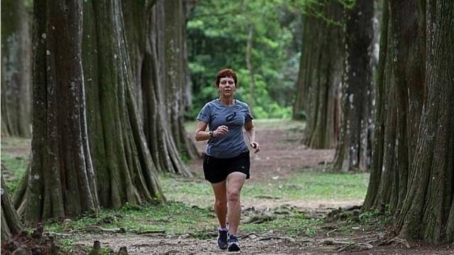 Rotina de treinos de Ivone inclui seis dias de exercícios por semana