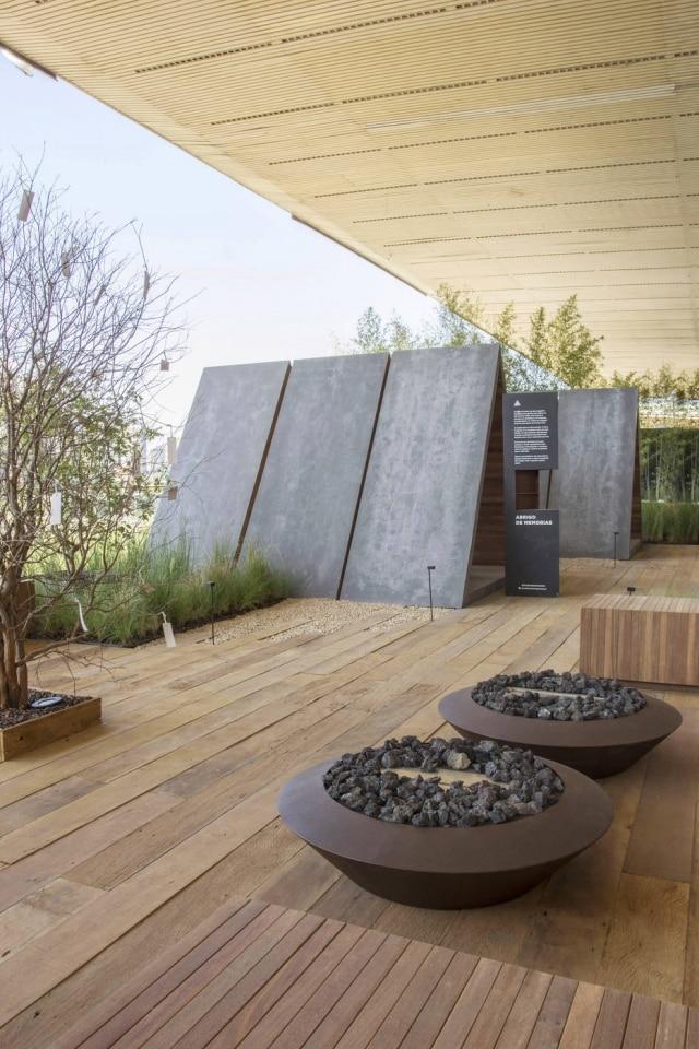 O espaço Abrigo de Memórias, de Duda Porto, é um dos concorrentes da categoria