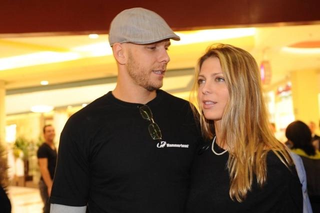 Fernando Scherer e Sheila Mello em foto de 2010, época em que ainda formavam um casal.