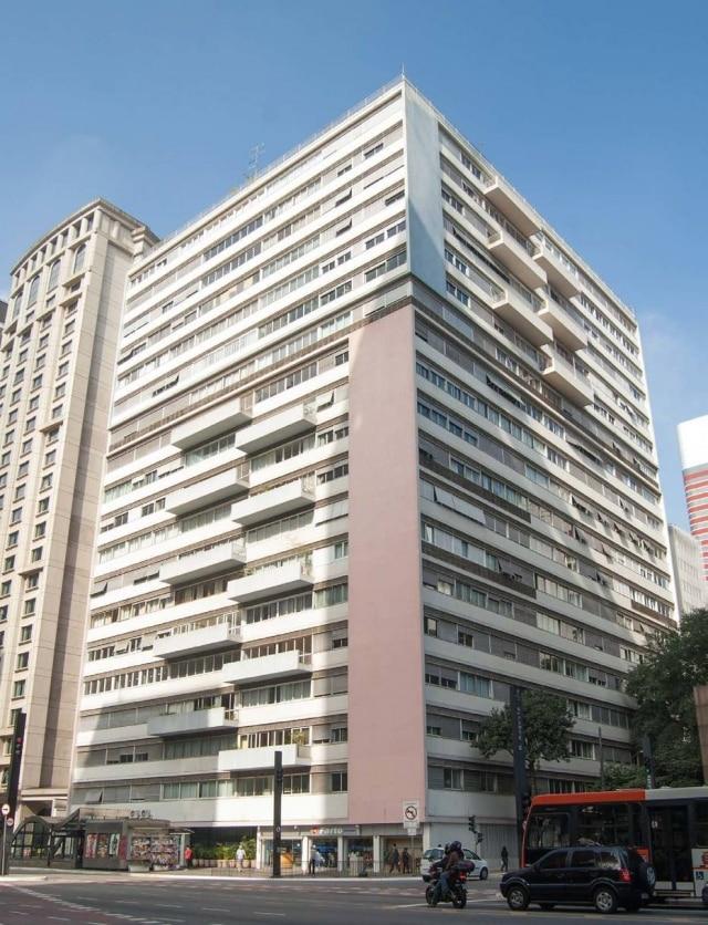 O edifício Três Marias, do arquiteto Abelardo de Souza
