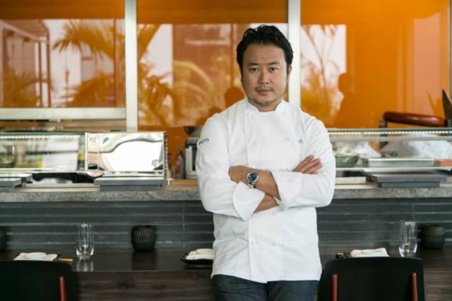 O chef Makoto Okuwa