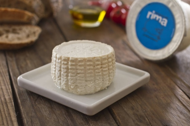 Ricota de ovelha, da queijaria Rima.