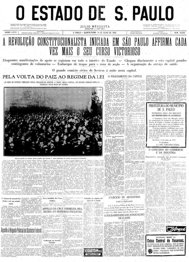 Estadão - 14/7/1932