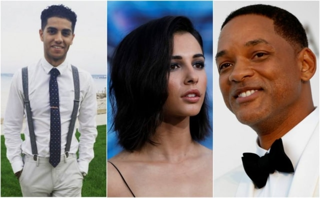 A DIsney anunciou os protagonistas da versão live-action de 'Aladdin': Mena Massoud como Aladdin, Naomi Scott como Jasmine e Will Smith como Gênio.
