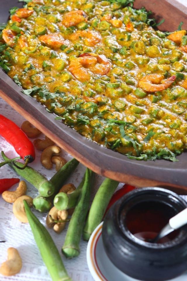 O prato, um cozido dequiabos, é um símbolo da culinária baiana