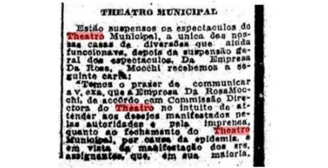 O Estado de S.Paulo - 24/10/1918Clique aqui para ver a página