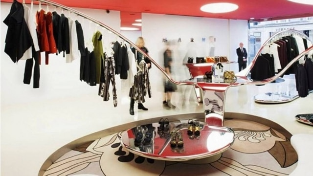 Interior da loja da Marni em Nova York, um dos alvos de blogueiro David Tripp