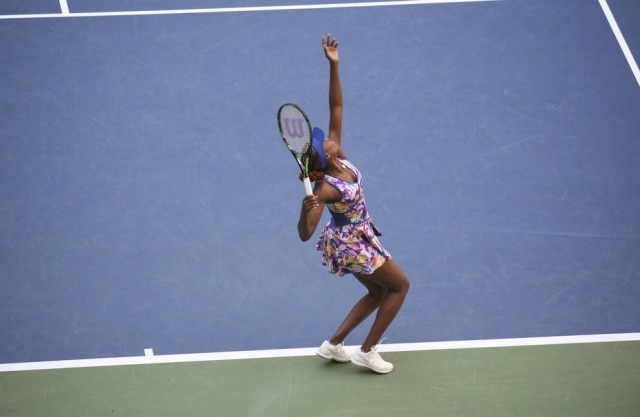 Venus Williams em Nova York.