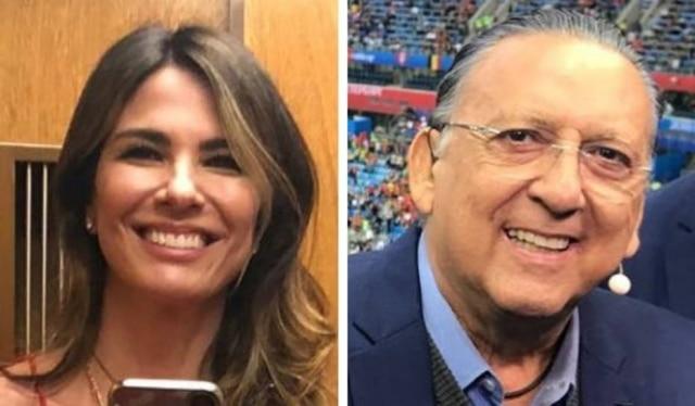 Luciana Gimenez e Galvão Bueno