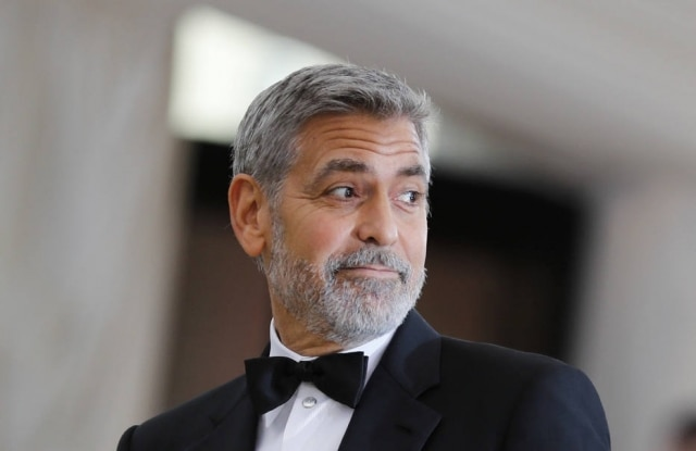 O ator George Clooney.