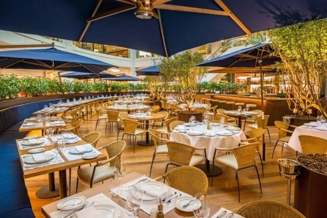 O novo restaurante é no piso térreo do Shopping Leblon.